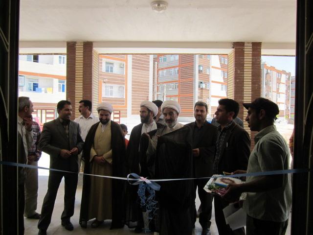 افتتاح مسجد حضرت  ابوالفضل(ع) مسکن مهر کوهدشت