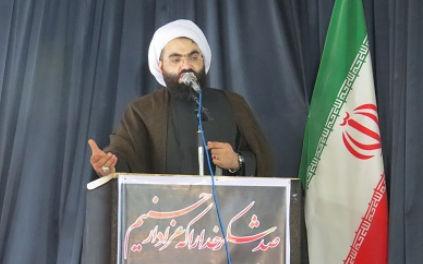 حجت الاسلام جمیاری :اگر کوتاه بیایید خودتان نیز به مسئله فلسطین دچار  می شوید.