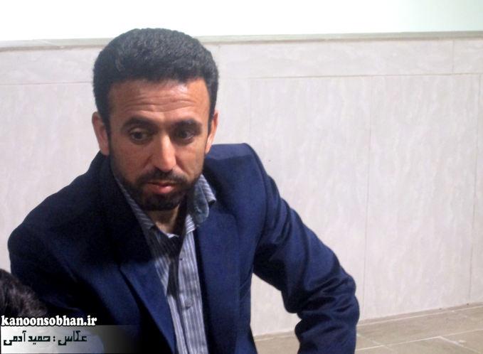 بازدید کارشناس ستاد عالی کانون های مساجد کشور از کانون سبحان کوهدشت و دیگر کانون های مساجد شهرستان+تصاویر