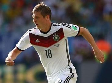 عنوان مرد سال فوتبال آلمان برای تونی کروس