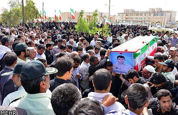 تشییع و تدفین شهید والامقام رحمان فتح الهی در شهرستان بروجرد