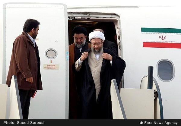 گزارش تصویری از سفر رئیس قوه قضاییه به خرم آباد لرستان بهمن ۹۳