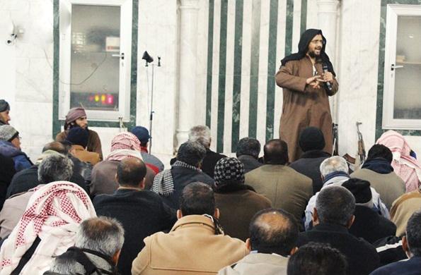 جلسه داعش با دبیران و مدیران مدارس دیرالزور