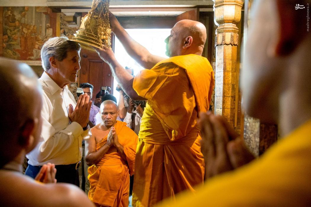 در حاشیه سفر جان کری،وزیر خارجه امریکا به سریلانکا
