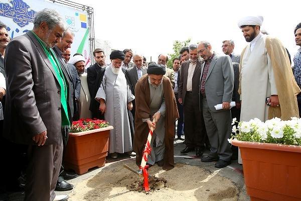 کلنگ زنی زائرسرای لرستانیها در مشهد