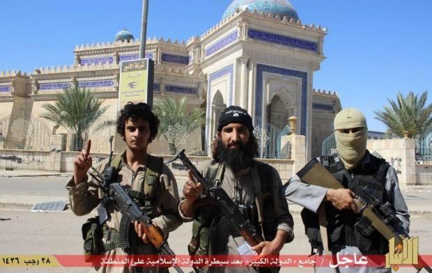 سقوط کامل الرمادی و اشغال آن توسط تروریستهای داعش
