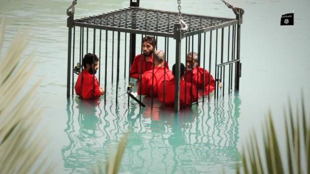 ادامه جنایات داعش؛ ابداع روشهای جدید اعدام توسط جنایتکاران داعشادامه جنایات داعش؛ ابداع روشهای جدید اعدام توسط جنایتکاران داعش