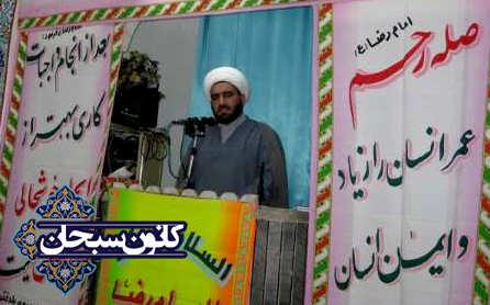 حجت الاسلام محمد سوری:«آزادگان نماد مقاومت و ولایت پذیری هستند.»/«لزوم الگوگیری از ویژگی های اخلاقی حضرت معصومه (س) در جامعه»