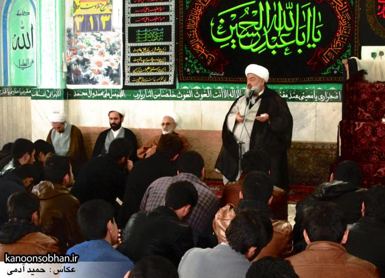 تصاویر سخنرانی حجت الاسلام ادیب یزدی در جمع طلاب کوهدشتی