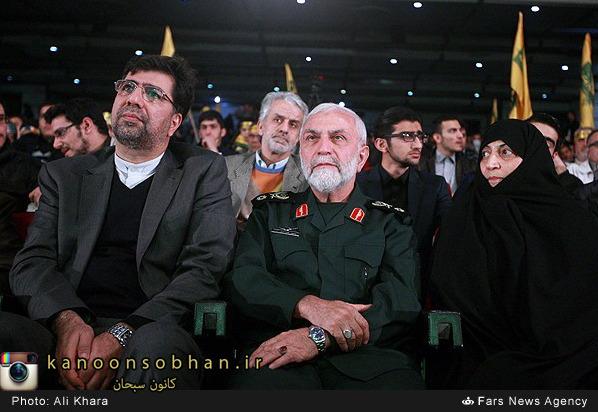 تصوير سردار همداني و غضنفر رکن آبادي باهم