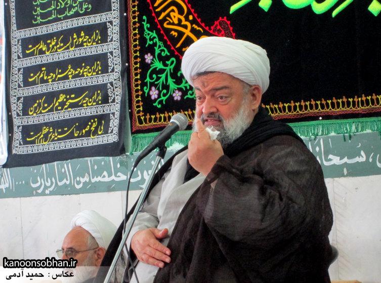 حجت الاسلام ادیب یزدی در جمع طلاب کوهدشتی (1)