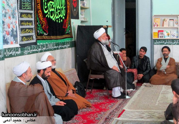 حجت الاسلام ادیب یزدی در جمع طلاب کوهدشتی (12)