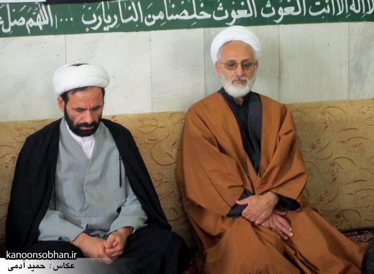 حجت الاسلام ادیب یزدی در جمع طلاب کوهدشتی (13)