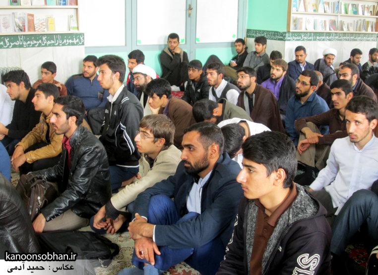 حجت الاسلام ادیب یزدی در جمع طلاب کوهدشتی (14)