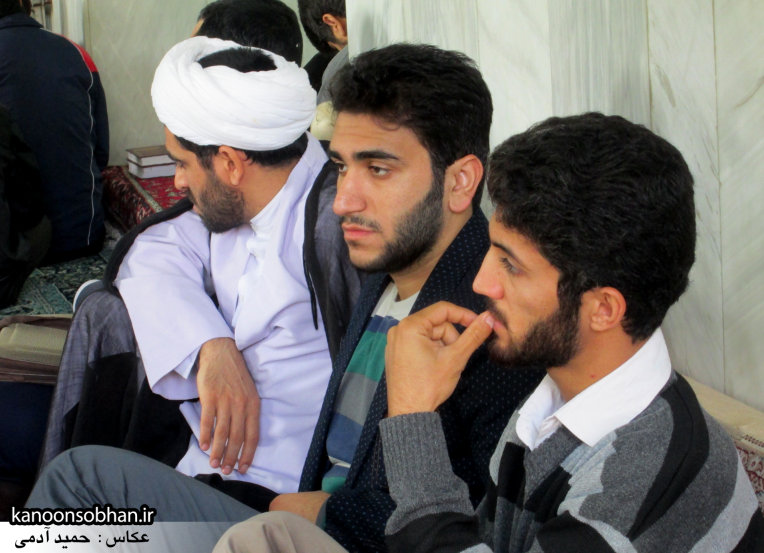 حجت الاسلام ادیب یزدی در جمع طلاب کوهدشتی (15)