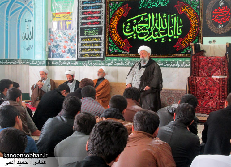 حجت الاسلام ادیب یزدی در جمع طلاب کوهدشتی (16)
