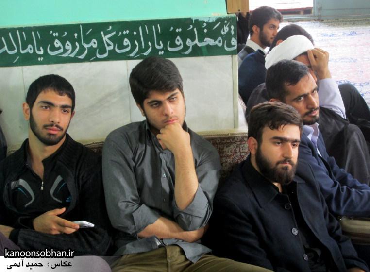 حجت الاسلام ادیب یزدی در جمع طلاب کوهدشتی (17)