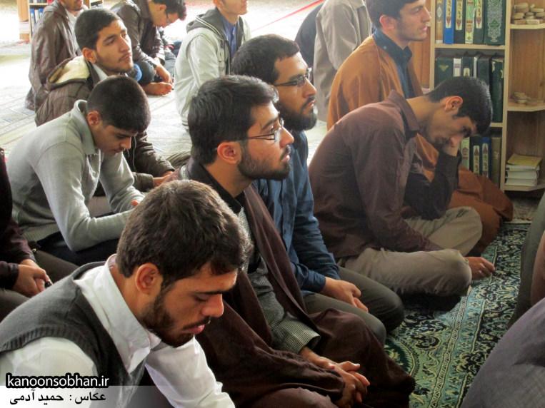 حجت الاسلام ادیب یزدی در جمع طلاب کوهدشتی (18)