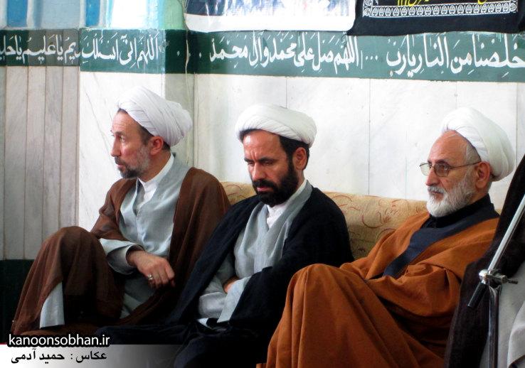 حجت الاسلام ادیب یزدی در جمع طلاب کوهدشتی (2)