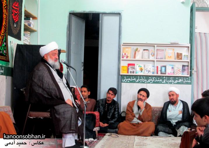 حجت الاسلام ادیب یزدی در جمع طلاب کوهدشتی (20)