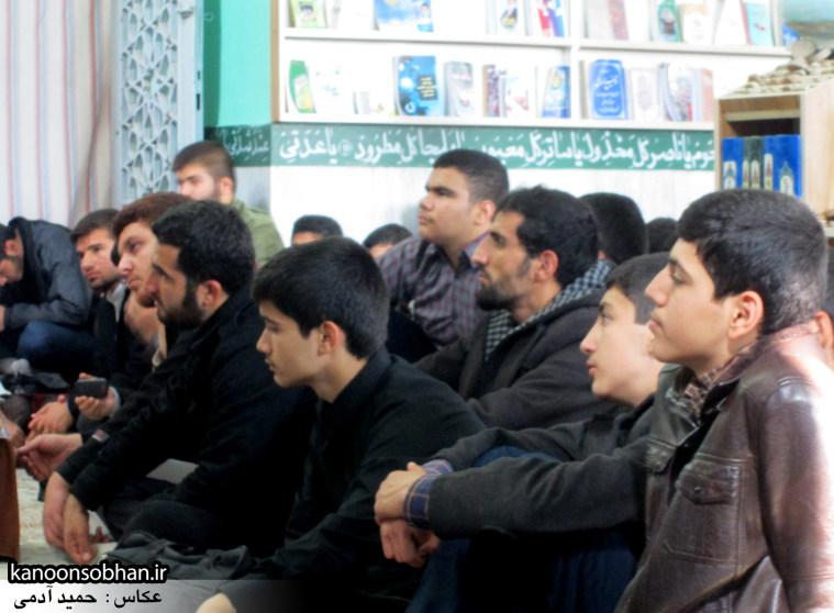 حجت الاسلام ادیب یزدی در جمع طلاب کوهدشتی (21)