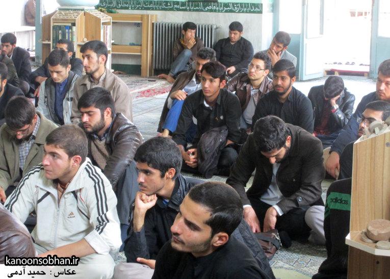 حجت الاسلام ادیب یزدی در جمع طلاب کوهدشتی (23)