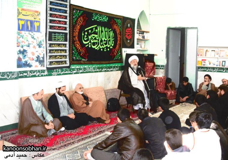 حجت الاسلام ادیب یزدی در جمع طلاب کوهدشتی (4)