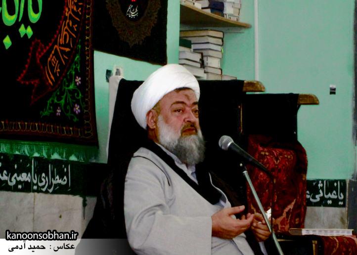 حجت الاسلام ادیب یزدی در جمع طلاب کوهدشتی (5)