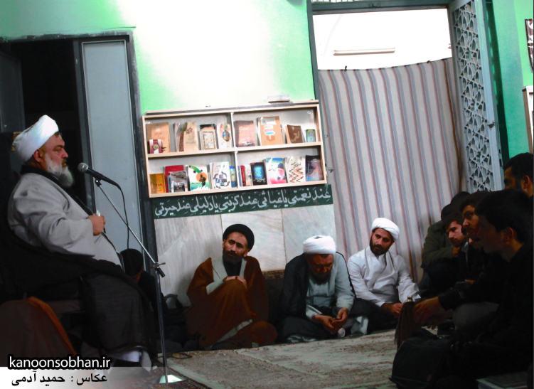 حجت الاسلام ادیب یزدی در جمع طلاب کوهدشتی (7)