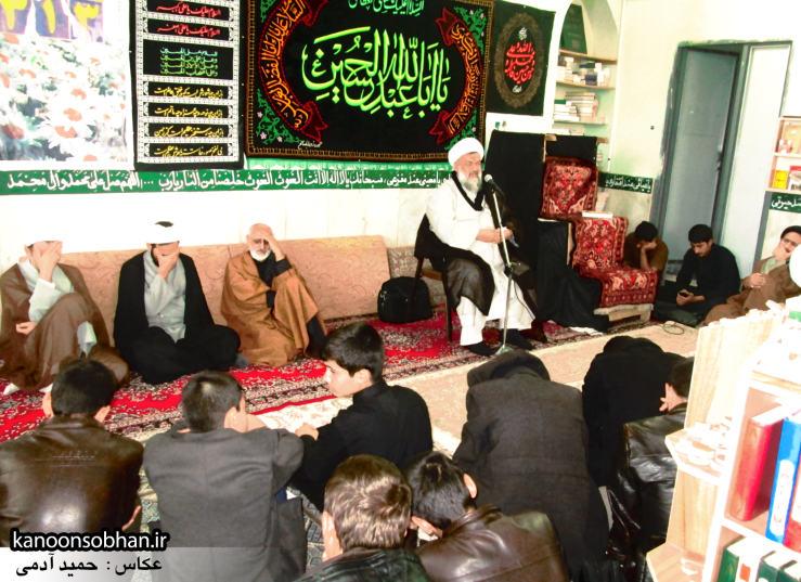 حجت الاسلام ادیب یزدی در جمع طلاب کوهدشتی (8)