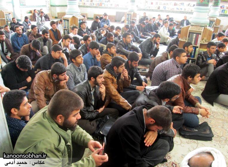 حجت الاسلام ادیب یزدی در جمع طلاب کوهدشتی (9)