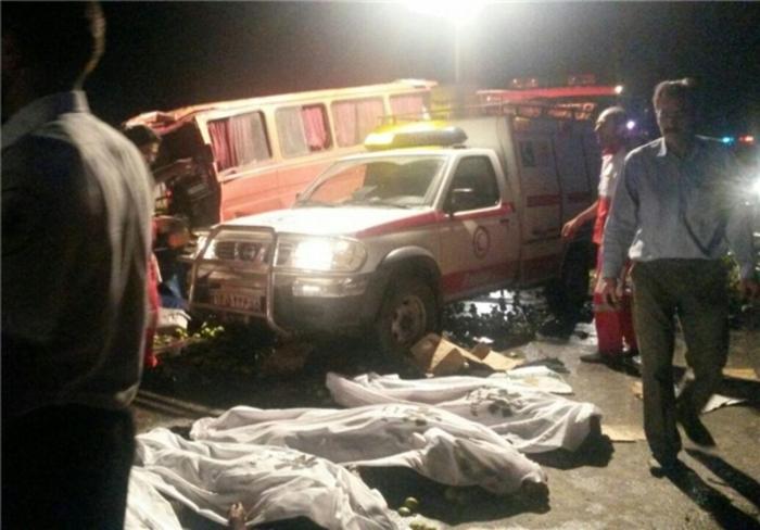 جزئیات بیشتر از حادثه خونین جاده قم ـ تهران +عکس