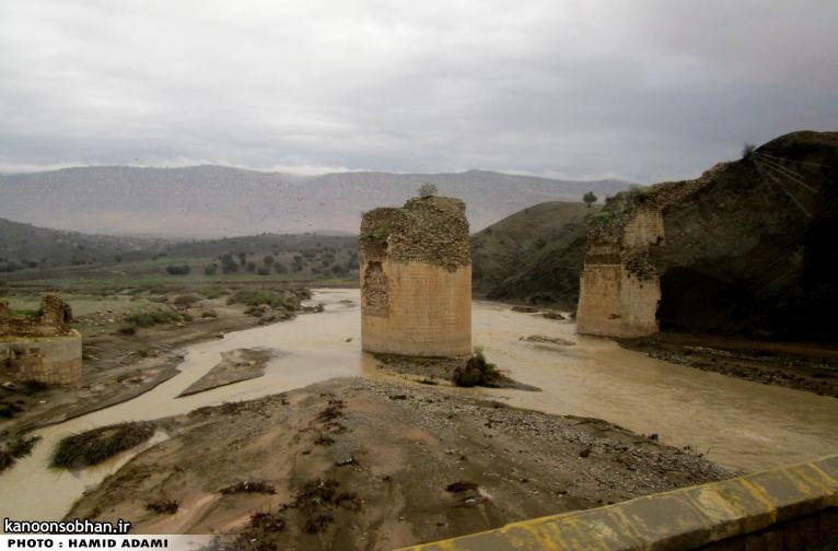 تصاویری از رودخانه کشکان در 15 آبان 94 (1)