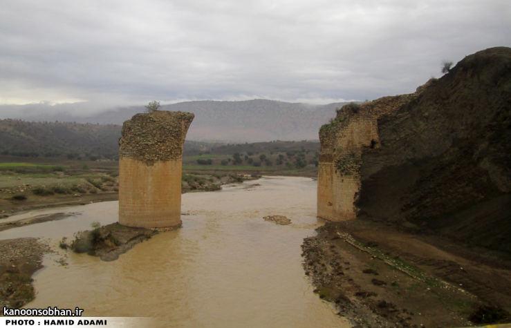 تصاویری از رودخانه کشکان در 15 آبان 94 (2)
