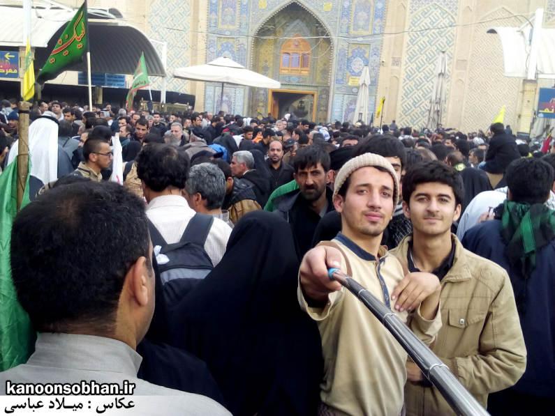 تصاویر اختصاصی کانون سبحان از پیاده روی اربعین حسینی 94 (1)