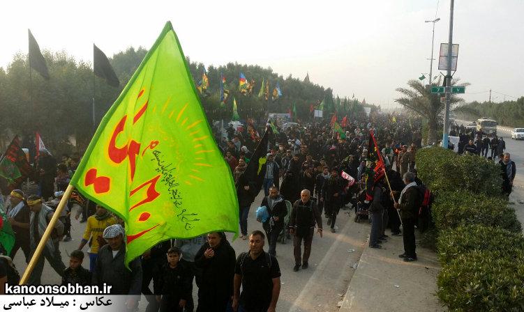 تصاویر اختصاصی کانون سبحان از پیاده روی اربعین حسینی 94 (2)