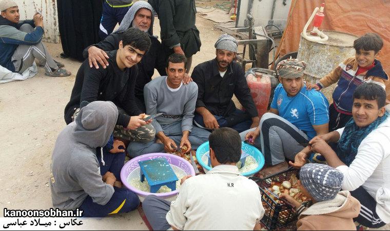تصاویر اختصاصی کانون سبحان از پیاده روی اربعین حسینی 94 (6)