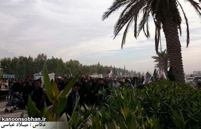 تصاویر اختصاصی کانون سبحان از پیاده روی اربعین حسینی 94 (8)