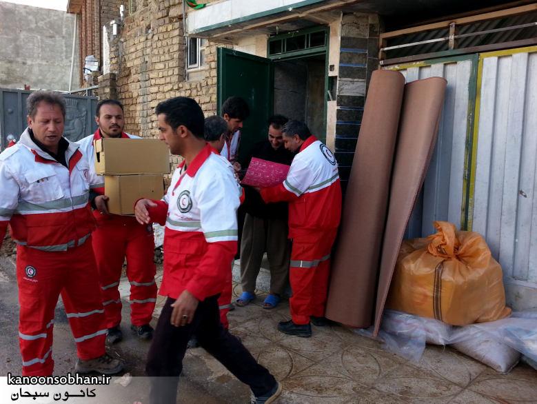 تصاویر امداد رسانی به مناطق شهری و روستایی کوهدشت (1)