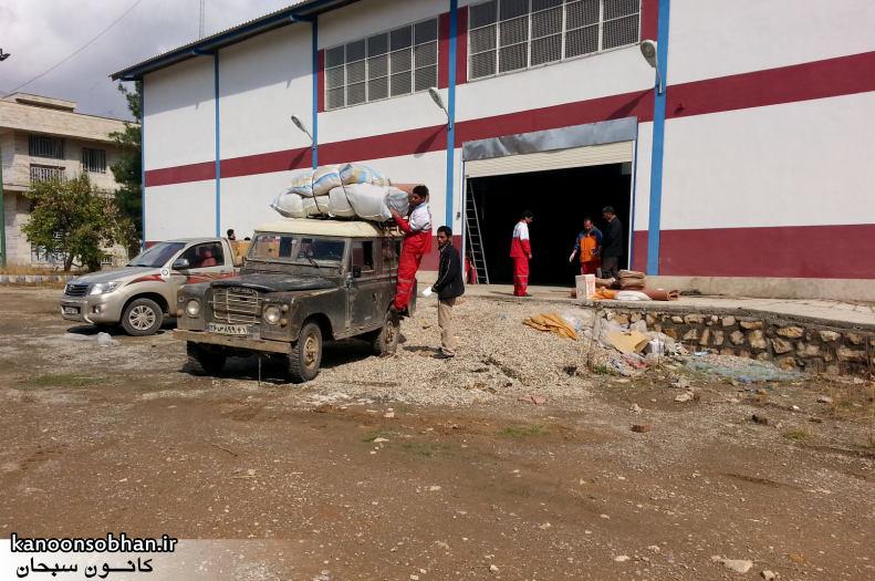 تصاویر امداد رسانی به مناطق شهری و روستایی کوهدشت (2)
