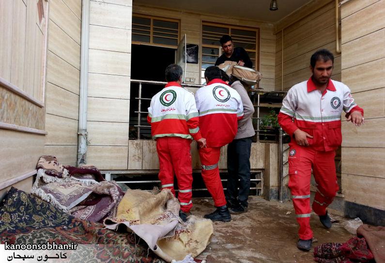 تصاویر امداد رسانی به مناطق شهری و روستایی کوهدشت (3)