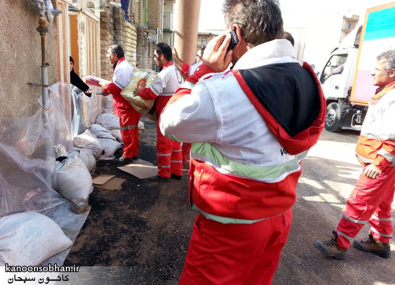 تصاویر امداد رسانی به مناطق شهری و روستایی کوهدشت (4)