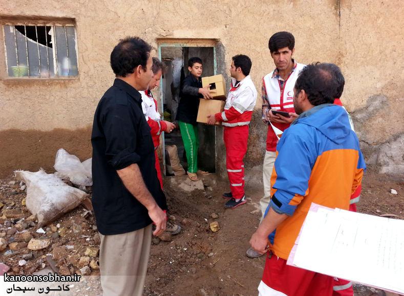 تصاویر امداد رسانی به مناطق شهری و روستایی کوهدشت (5)