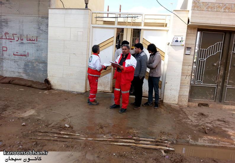 تصاویر امداد رسانی به مناطق شهری و روستایی کوهدشت (6)