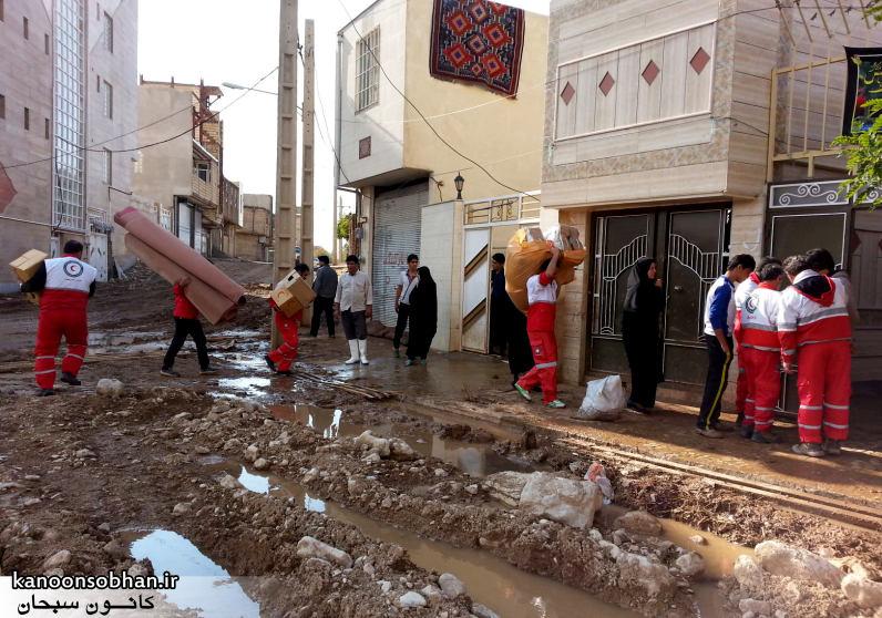 تصاویر امداد رسانی به مناطق شهری و روستایی کوهدشت (7)