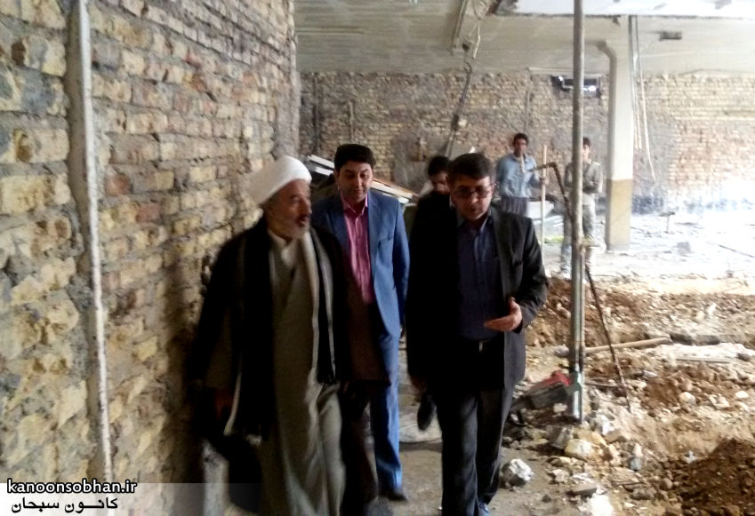 تصاویر بازدید امام جمعه کوهدشت از روند اجرایی بیمارستان جدید کوهدشت (7)