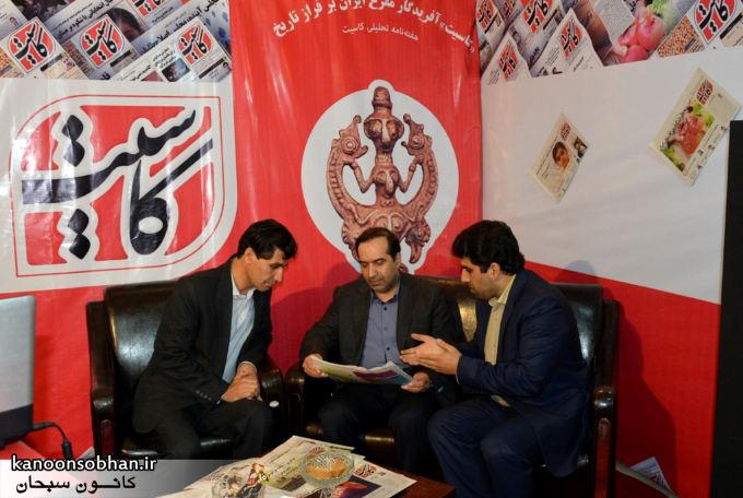 تصاویر بازدید شخصیت ها ی کشوری از غرفه هفته نامه کاسیت در نمایشگاه مطبوعات و خبرگزاری ها (10)