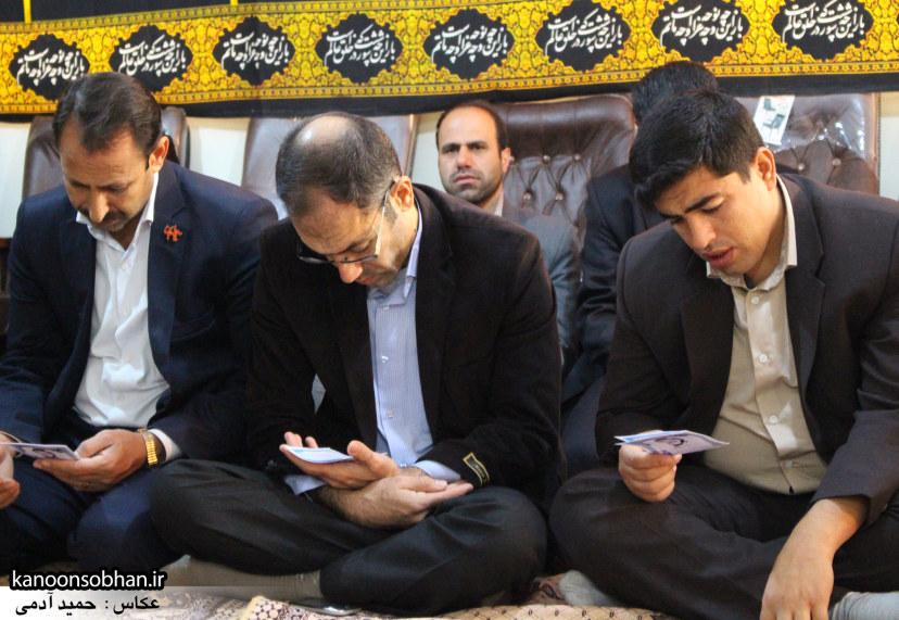 تصاویر برگزاری مراسم زیارت عاشورا در دفتر امام جمعه کوهدشت (2)