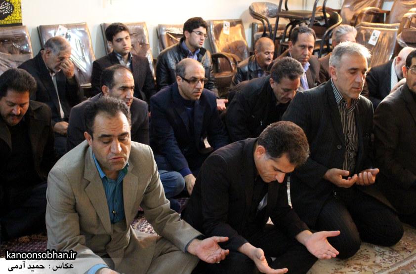 تصاویر برگزاری مراسم زیارت عاشورا در دفتر امام جمعه کوهدشت (4)