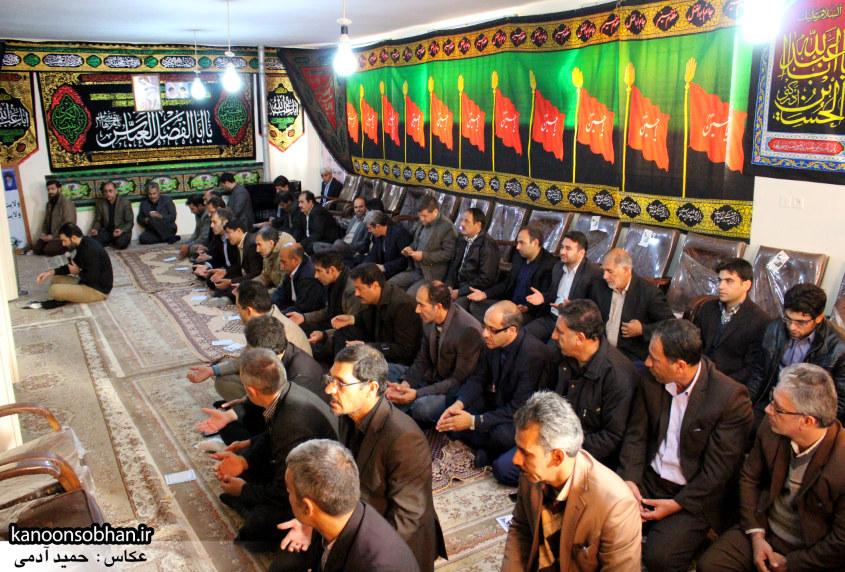 تصاویر برگزاری مراسم زیارت عاشورا در دفتر امام جمعه کوهدشت (5)